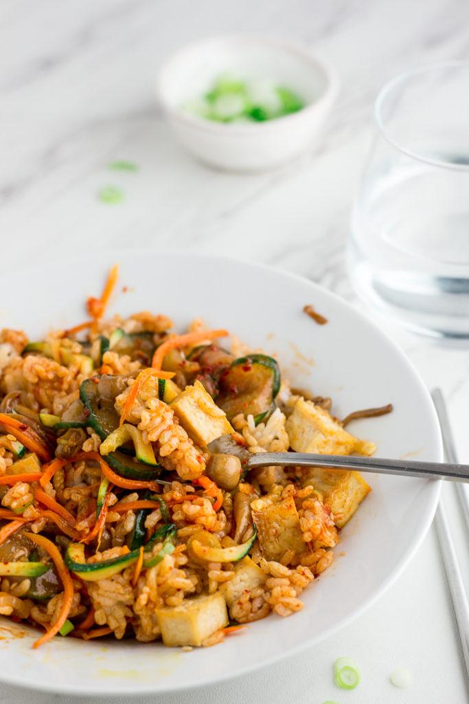 Mixed Vegan Korean Bibimbap