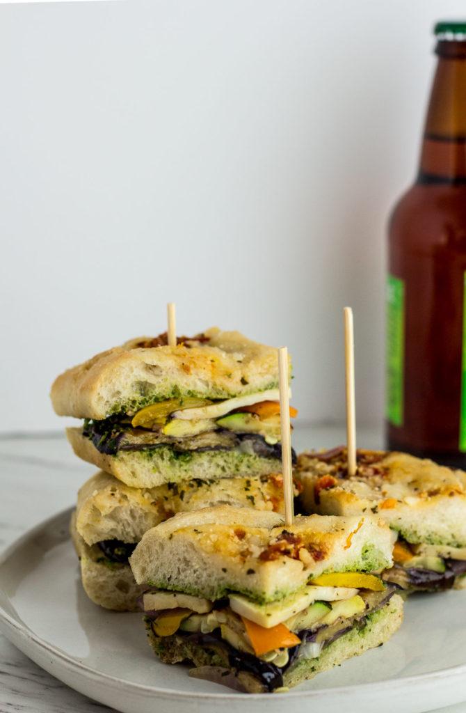 Labor Day Vegan Veggie Sandwich final