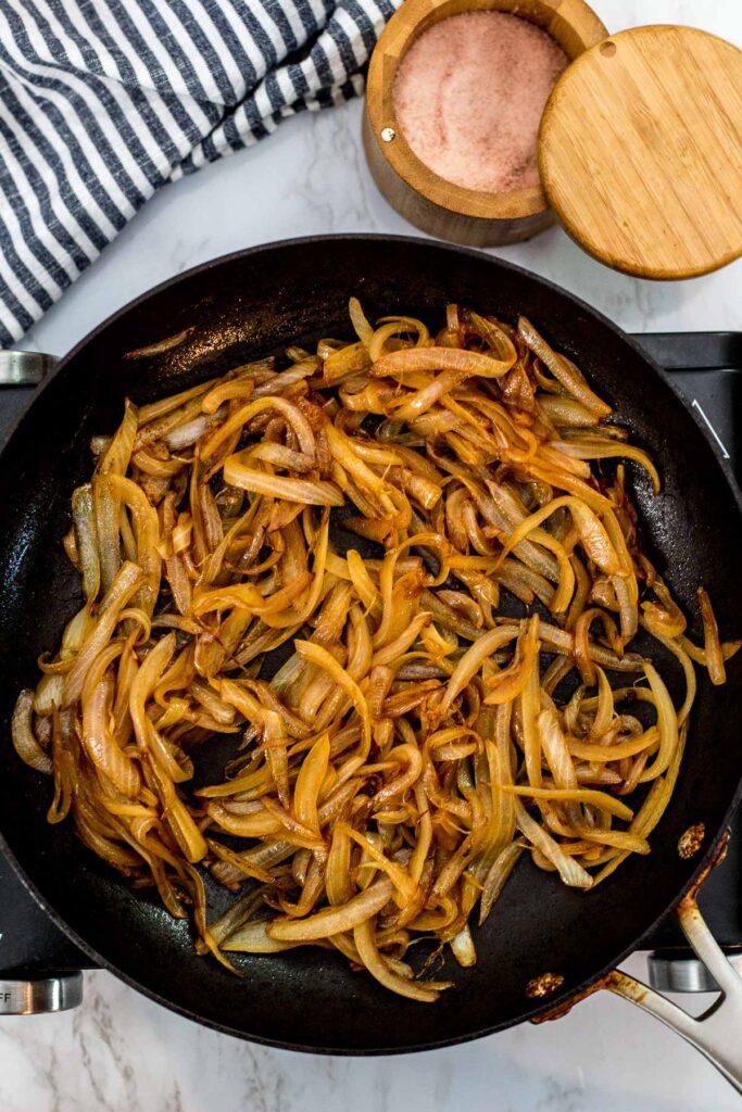 quick caramelized onion